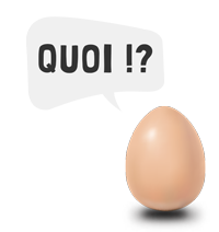 oeuf bulle pour pages quoi