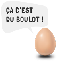oeuf bulle pour pages web boulot