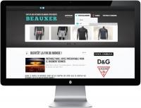 BEAUXER - Prêt à porter - Site internet