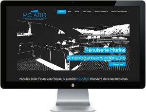 MC AZUR - Site internet