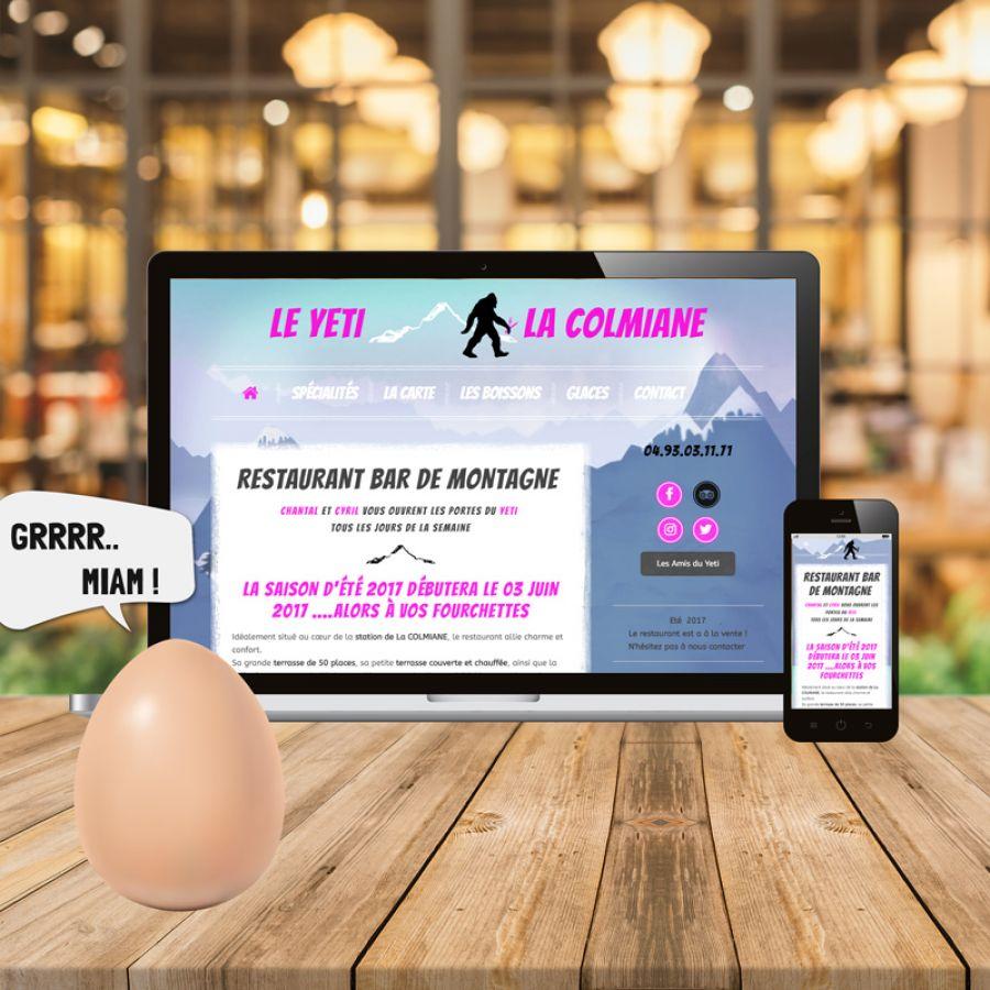 site internet responsive web design sur ordinateur et smartphone
