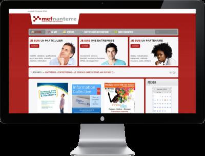 MEF - Nanterre Site internet